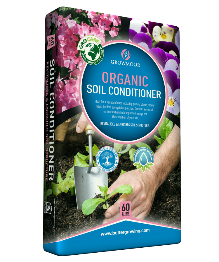 Organic soil conditioner for Organic top soil